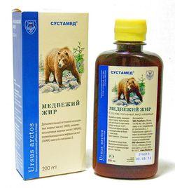 как принимать медвежий жир при кашле