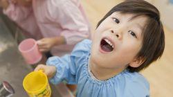 полоскание горла ребенку