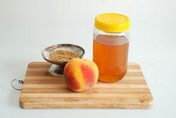 маслом персика