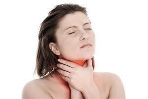 Терафлю Лор при боли в горле