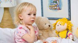 У ребенка скапливается слизь в носоглотке