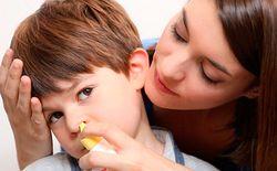 Избавление от слизи в носоглотке у детей