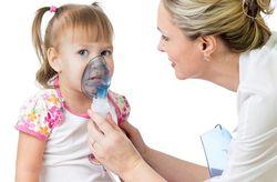 Ингаляции от длительного сухого кашля у детей
