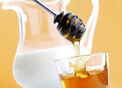 Молоко с медом от сухого кашля