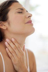 Лечение отечного горла