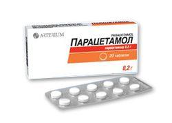 Парацетамол от жара